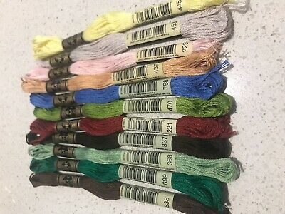 AU1 • Buy BRAND NEW DMC Stranded Cotton Thread You Choose The Colour And Quantity 1-827