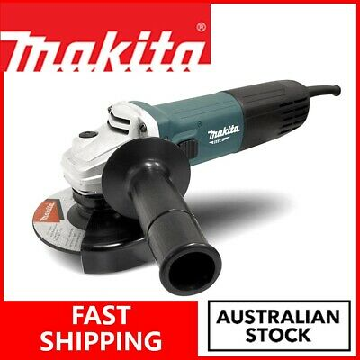 AU78.20 • Buy Makita Electric Angle Grinder 125mm Corded Grinding Power Tools Polisher DIY