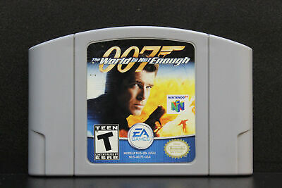 $27.49 • Buy 007 The World Is Not Enough - Nintendo N64 Game Authentic