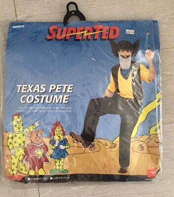 Rare Vintage Retro Super Ted SuperTed Costume Dress Up Cosplay Size Medium • 15£