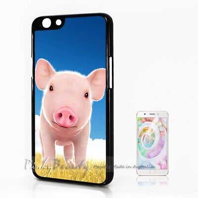 AU9.99 • Buy ( For Oppo A57 ) Back Case Cover P11696 Cute Pig