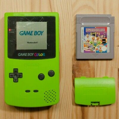 Phonecaseonline Carcasa Gameboy Color Pikachu Green New Video Game Accessories Faceplates, Decals & Stickers Able It
