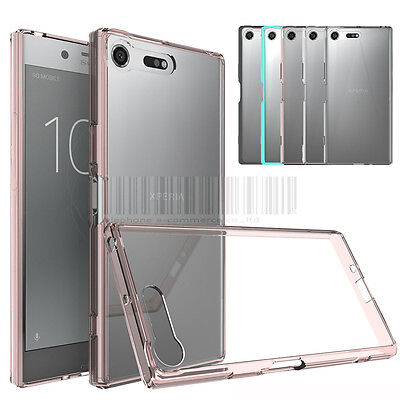 AU3.38 • Buy Hybrid TPU Crystal Clear Case Shockproof Bumper Cover For Sony Xperia XZ Premium