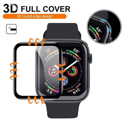 $ CDN3.42 • Buy 2-PACK Tempered Glass Screen Protector For Apple Watch Series 1-6 SE 38/40/42mm