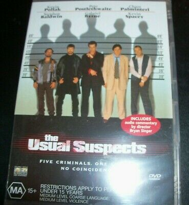 AU13.49 • Buy The Usual Suspects (Kevin Spacey Stephen Balwin) (Australia Region 4) DVD – New