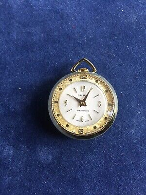 Vintage Chalet 17jewels Mechanical Wind Up Necklace Pendant Watch Watches, Parts & Accessories Necklace Watches ln-315s