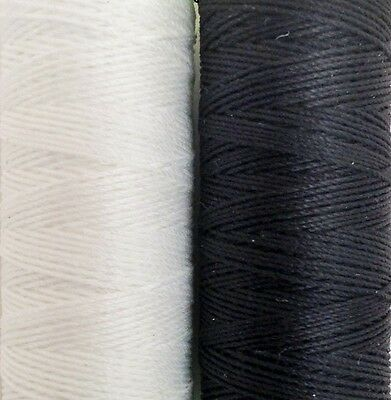 Coats Thread..Extra Strong No10s,unsnapableThread 60 Metres Blk&wht With Needle2 • 2.89£