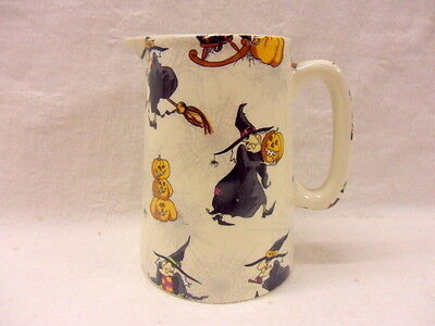 £16.99 • Buy Hubble Bubble Witches One Pint Pitcher Jug By Heron Cross Pottery