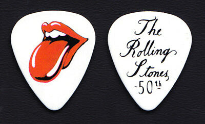 The Rolling Stones 50th Anniversary Promotional Guitar Pick #10 - 2012 Grrr! • 7.40£
