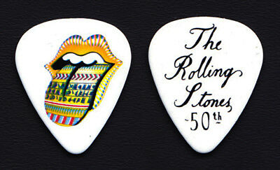 The Rolling Stones 50th Anniversary Promotional Guitar Pick #11 - 2012 Grrr! • 7.40£