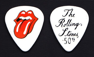 The Rolling Stones 50th Anniversary Promotional Guitar Pick #1 - 2012 Grrr! • 7.40£