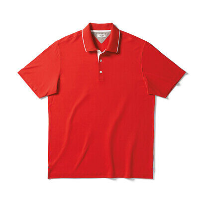 $9.99 • Buy Adidas Golf AdiPure Wool Blend Pique Polo Lush Red M - NEW WITH TAGS