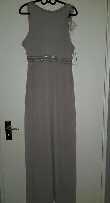TFNC Mink Bridesmaid Dress Brand New With Tags Size 10 • 30£
