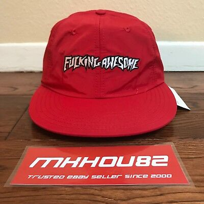 $ CDN101.72 • Buy New F*cking Awesome FA Outline Logo Cap Hat Jason Dill Supreme 5-Panel Camp SS17