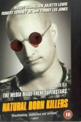 Natural Born Killers DVD (2001) Robert Downey Jr. • 1.39£