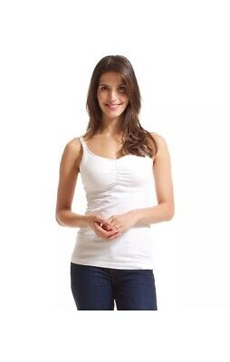 $19.99 • Buy BRAND NEW Bravado Essential Nursing Tank White Size 44 D/E (DD) WITH TAGS