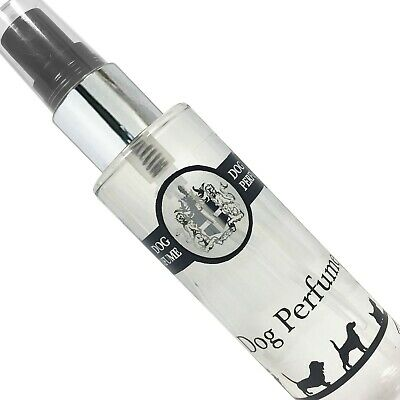 Cologne For Dogs, Perfume Spray 100ml & 30ml UK Manufacturers Of Fine Fragrance • 3.85£