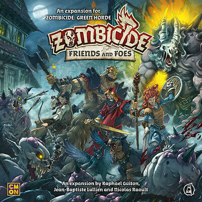AU76.96 • Buy Zombicide Green Horde Friends And Foes Expansion