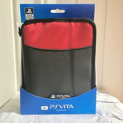 £27.49 • Buy PS VITA Deluxe Travel Case Bag Red Official + HORI Game Case Brand NEW