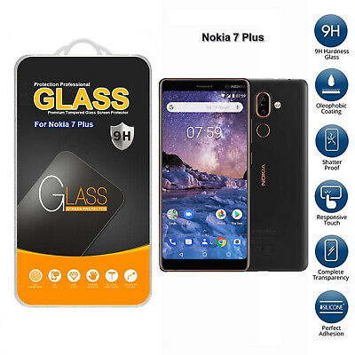 AU5.16 • Buy Tempered Glass Mobile Phone Screen Protector For Nokia 7 Plus