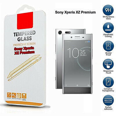 AU5.04 • Buy Tempered Glass Mobile Phone Screen Protector For Sony Xperia XZ Premium