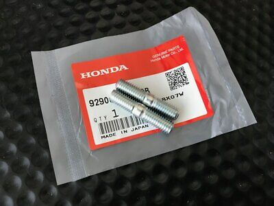 $11.98 • Buy Genuine Oem Honda Acura 8x22mm Cylinder Head Exhaust Header Stud Bolt Set Of 2