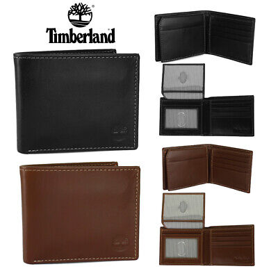 $17.85 • Buy Timberland Men's Genuine Leather Passcase Wallet
