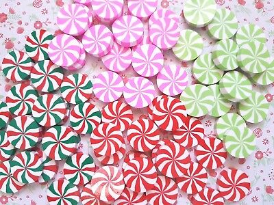Swirly Candy Sweet Polymer Clay Embellishment Decoden Kawaii Cabochon Craft DIY • 1.99£