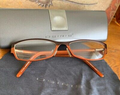 OSIRIS Brown Mix Frames Spectacles Glasses Specsavers Spare Lightweight • 9£