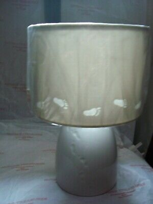 Belleek Living Baby Electric Lamp  And Shade 7071 Bnib • 40£