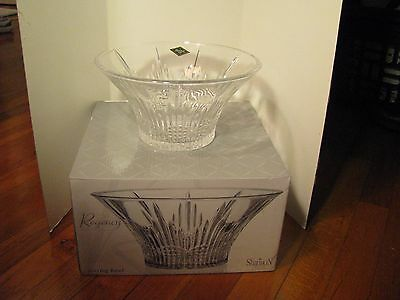 $20 • Buy Regence Crystal Collection--Shannon Crystal By Godinger 9 1/4  Dia. Serving Bowl