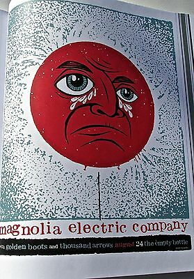 Magnolia Electric Company Mini-Concert Poster For 2007 Chicago Ill Gig 14x10   • 20.27£
