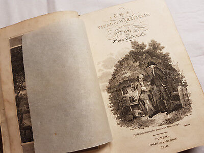 The Vicar Of Wakefield: A Tale, By Oliver Goldsmith, 1810 Edition, Rare! • 219£