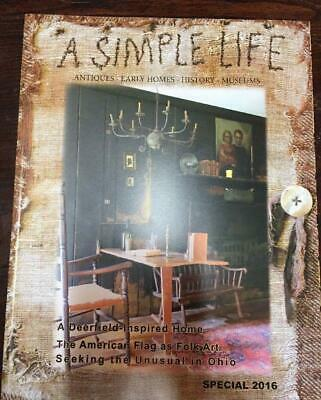 $12 • Buy A Simple Life Magazine New Special 2016 Jill Peterson Primitive Decorating