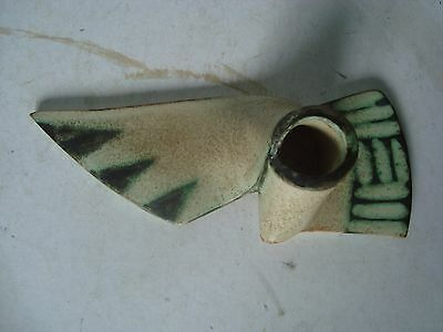 £38 • Buy Unusual Studio Pottery Knot Shaped Candle Holder Ornament Hand Signed