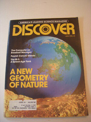 $14.99 • Buy DISCOVER Magazine JUNE 1982, THE M-1: A SPACE-AGE TANK, FOUND: CANCER GENES!