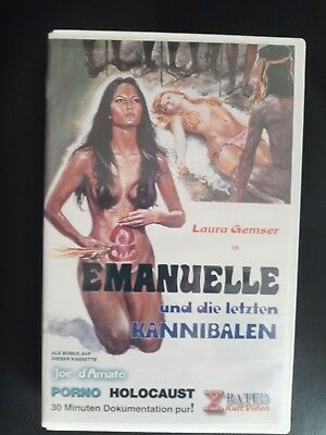 Emanuelle And The Last Cannibals - Laura Gemser - Rare Video - Joe D'Amato • 29.99£