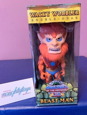 $16.99 • Buy Masters Of The Universe 30th Anniversary BEAST MAN Wacky Wobbler Bobble Head MOC
