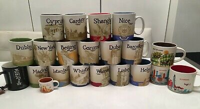 Starbucks Collectors Mugs - Brand New 2009-2017 Collectables • 35£