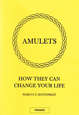 £26.70 • Buy AMULETS Marcus Bottomley Finbarr Black Occult White Spells Magick Grimoire