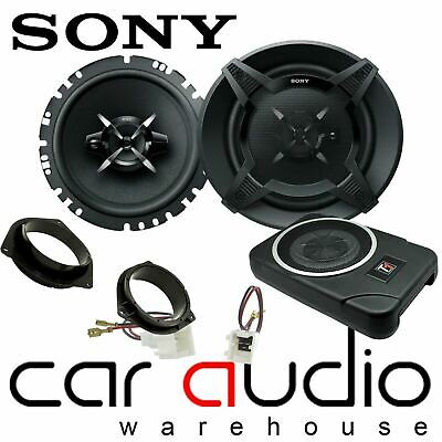 SONY Front Door Speakers & 300W Underseat Sub Kit For Nissan Navara D40  • 229£
