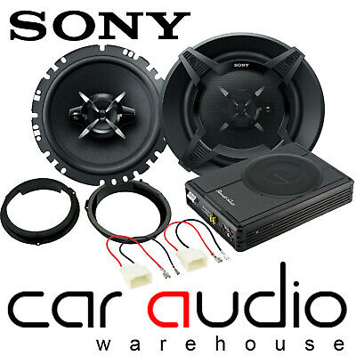 Ford Transit Custom 2010 On SONY Front Car Speakers & 300W Underseat Sub Kit • 199£