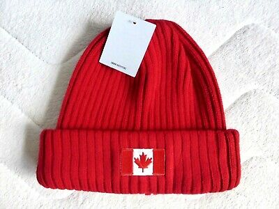 LET'S GO CANADA Wool Mix DOCKYARD Beanie Toque Hat SUPER Urban Outfitters CAN3 • 14.99£