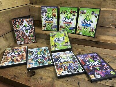 The Sims 3 Bundle Base Game + Expansions & Stuff - Generations, Ambitions • 30£