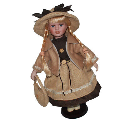 $ CDN34.10 • Buy 16 Inch Victorian Porcelain Girl Dolls Collectibles Female Figurines Statues