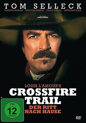 Crossfire Trail - Tom Selleck , Virginia Madsen, Simon Wincer Region 2 DVD • 19.99£