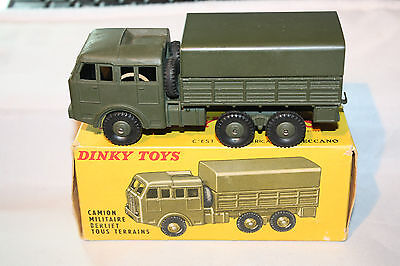 £119 • Buy Dinky France #818 Berliet Army Truck,Mint Condition In Good Original Box