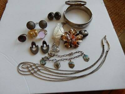 $ CDN143.47 • Buy Vintage Lot All Sterling Jewelry Wearable Sellable 143.5 Grams