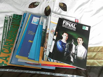 Fa Vase Final Programme Collection 1975 - 2012 Choose From List • 3.49£