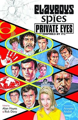 Playboys Spies And Private Eyes Inspired By ITC Book The Persuaders Jason King • 12.99£